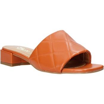 Chaussures Femme Mules Grace Shoes 971Y001 Orange