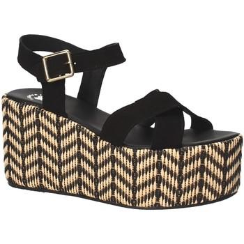 Chaussures Femme Sandales et Nu-pieds Exé Shoes G41007047004 Noir