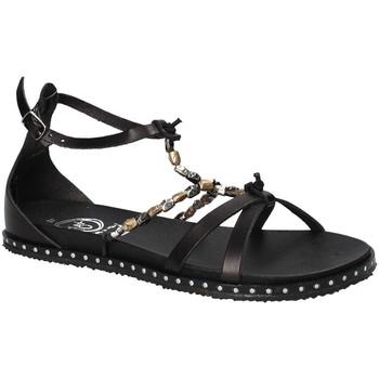 Chaussures Femme Sandales et Nu-pieds 18+ 6140 Noir