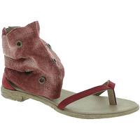 Chaussures Femme Sandales et Nu-pieds 18+ 6111 Rouge