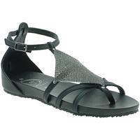 Chaussures Femme Sandales et Nu-pieds 18+ 6108 Noir