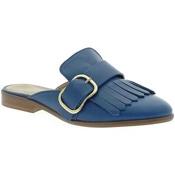 Chaussures Femme Sabots Mally 6116 Bleu