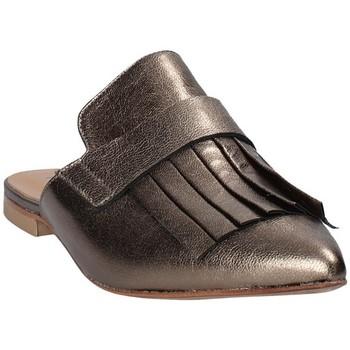 Chaussures Femme Sabots Mally 6173 Gris
