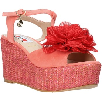 Chaussures Femme Sandales et Nu-pieds Love To Love GIN5106 Rouge