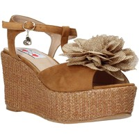 Chaussures Femme Sandales et Nu-pieds Love To Love GIN575 Marron