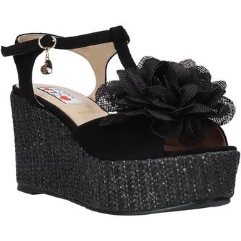 Chaussures Femme Sandales et Nu-pieds Love To Love GIN583 Noir