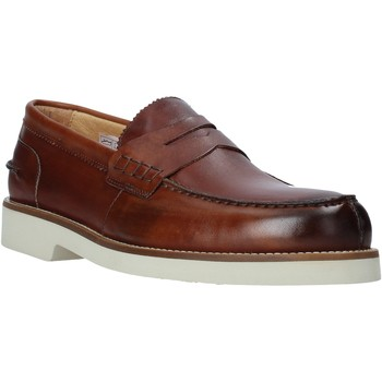 Chaussures Homme Mocassins Exton 2102 Marron