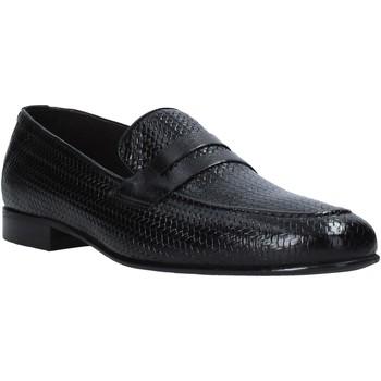 Chaussures Homme Mocassins Exton 1021 Noir