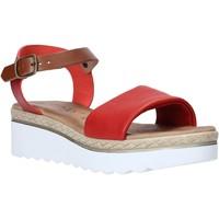 Chaussures Femme Sandales et Nu-pieds Jeiday 1278-9696 Rouge