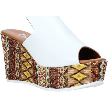 Chaussures Femme Mules Grace Shoes 11 Blanc