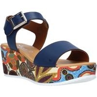 Chaussures Femme Sandales et Nu-pieds Grace Shoes 03 Bleu