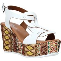 Chaussures Femme Sandales et Nu-pieds Grace Shoes 09 Blanc