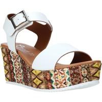 Chaussures Femme Sandales et Nu-pieds Grace Shoes 06 Blanc