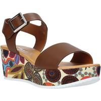 Chaussures Femme Sandales et Nu-pieds Grace Shoes 03 Marron
