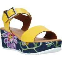 Chaussures Femme Sandales et Nu-pieds Grace Shoes 02 Jaune