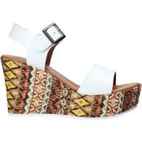 Chaussures Femme Sandales et Nu-pieds Grace Shoes 08 Blanc