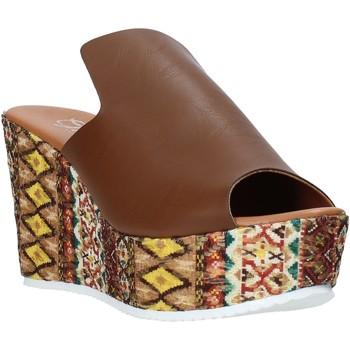 Chaussures Femme Mules Grace Shoes 11 Marron
