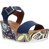 Chaussures Femme Sandales et Nu-pieds Grace Shoes 07 Bleu
