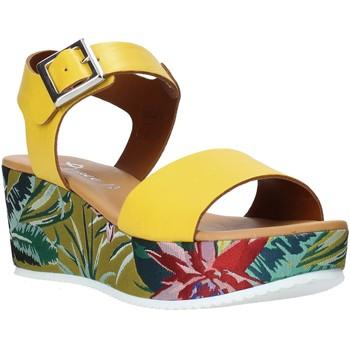Chaussures Femme Sandales et Nu-pieds Grace Shoes 01 Jaune