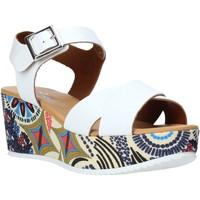 Chaussures Femme Sandales et Nu-pieds Grace Shoes 12 Blanc