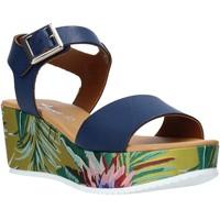 Chaussures Femme Sandales et Nu-pieds Grace Shoes 01 Bleu