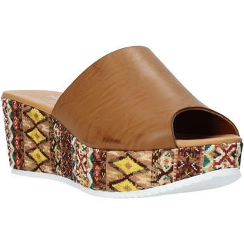 Chaussures Femme Mules Grace Shoes 10 Marron