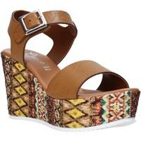Chaussures Femme Sandales et Nu-pieds Grace Shoes 08 Marron