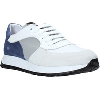 Chaussures Homme Baskets basses Exton 741 Blanc