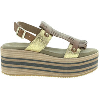 Chaussures Femme Sandales et Nu-pieds Pregunta IBH15804 Marron