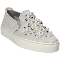 Chaussures Femme Slip ons The Flexx B108_56 Gris