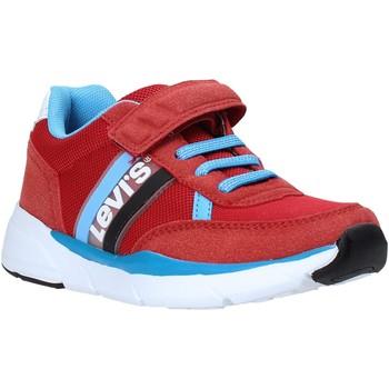 Chaussures Enfant Baskets basses Levi's VORE0031T Rouge
