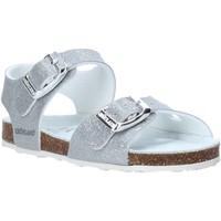 Chaussures Enfant Sandales et Nu-pieds Grunland SB1258 Argent