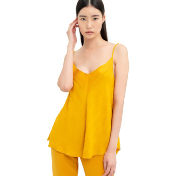 Vêtements Femme Tops / Blouses Fracomina FR20SM551 Jaune