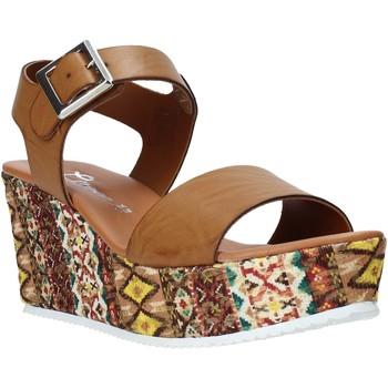 Chaussures Femme Sandales et Nu-pieds Grace Shoes 06 Marron