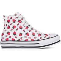 Chaussures Fille Baskets montantes Converse 668016C Blanc