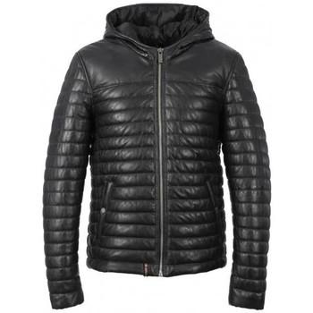 Vêtements Homme Vestes en cuir / synthétiques Oakwood AURELIEN 3 BLEU FONCE 533 Noir