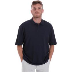 Vêtements Homme Polos manches courtes Les Copains 9U9016 Bleu