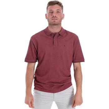 Vêtements Homme Polos manches courtes Les Copains 9U9016 Rouge