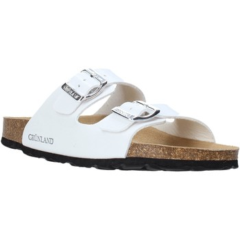Chaussures Femme Mules Grunland CB1035 Blanc