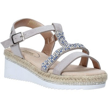 Chaussures Fille Sandales et Nu-pieds Miss Sixty S20-SMS785 Argent