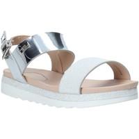 Chaussures Fille Sandales et Nu-pieds Miss Sixty S20-SMS797 Argent