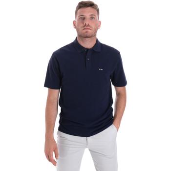 Vêtements Homme Polos manches courtes Les Copains 9U9023 Bleu