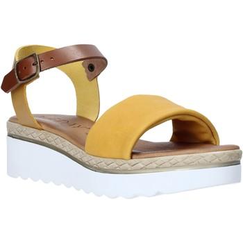 Chaussures Femme Sandales et Nu-pieds Jeiday 1278-9696 Jaune
