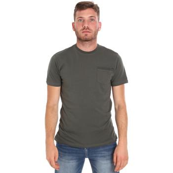 Vêtements Homme T-shirts manches courtes Les Copains 9U9010 Vert