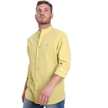 Vêtements Homme Chemises manches longues Les Copains 9U2722 Vert