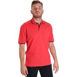 Vêtements Homme Polos manches courtes Les Copains 9U9020 Rouge