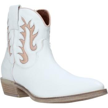 Chaussures Femme Bottines Mally 6629S Blanc