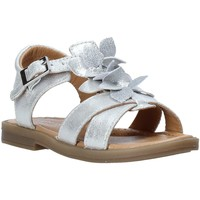 Chaussures Fille Sandales et Nu-pieds Grunland PS0062 Argent
