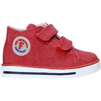 Chaussures Enfant Baskets montantes Falcotto 2014604 04 Rouge