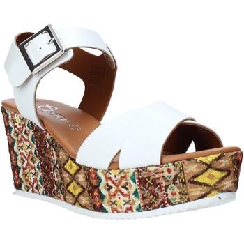 Chaussures Femme Sandales et Nu-pieds Grace Shoes 13 Blanc